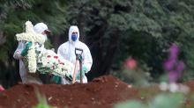 Brasil bordea los dos millones de casos de coronavirus y supera las 75.000 muertes