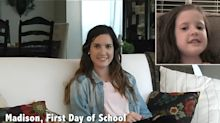 Dad Interviews Daughter on Her First Day of School Every Year and Releases Video as She Graduates