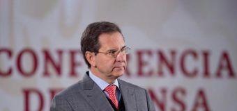 Aprueba Estados Unidos a Esteban Moctezuma como nuevo embajador de México