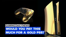 We know how much the PS5 will cost… if it's covered in 24k gold!
