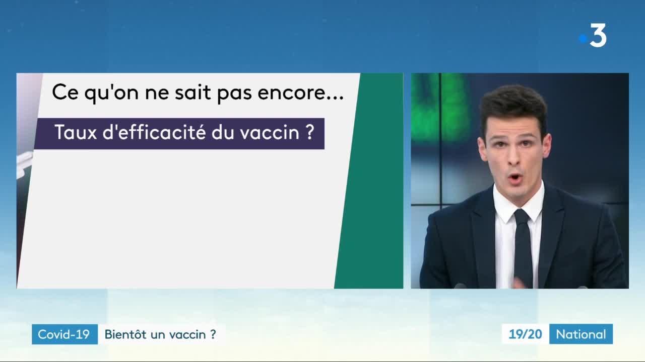 Coronavirus : des vaccins en perspective ? Vidéo