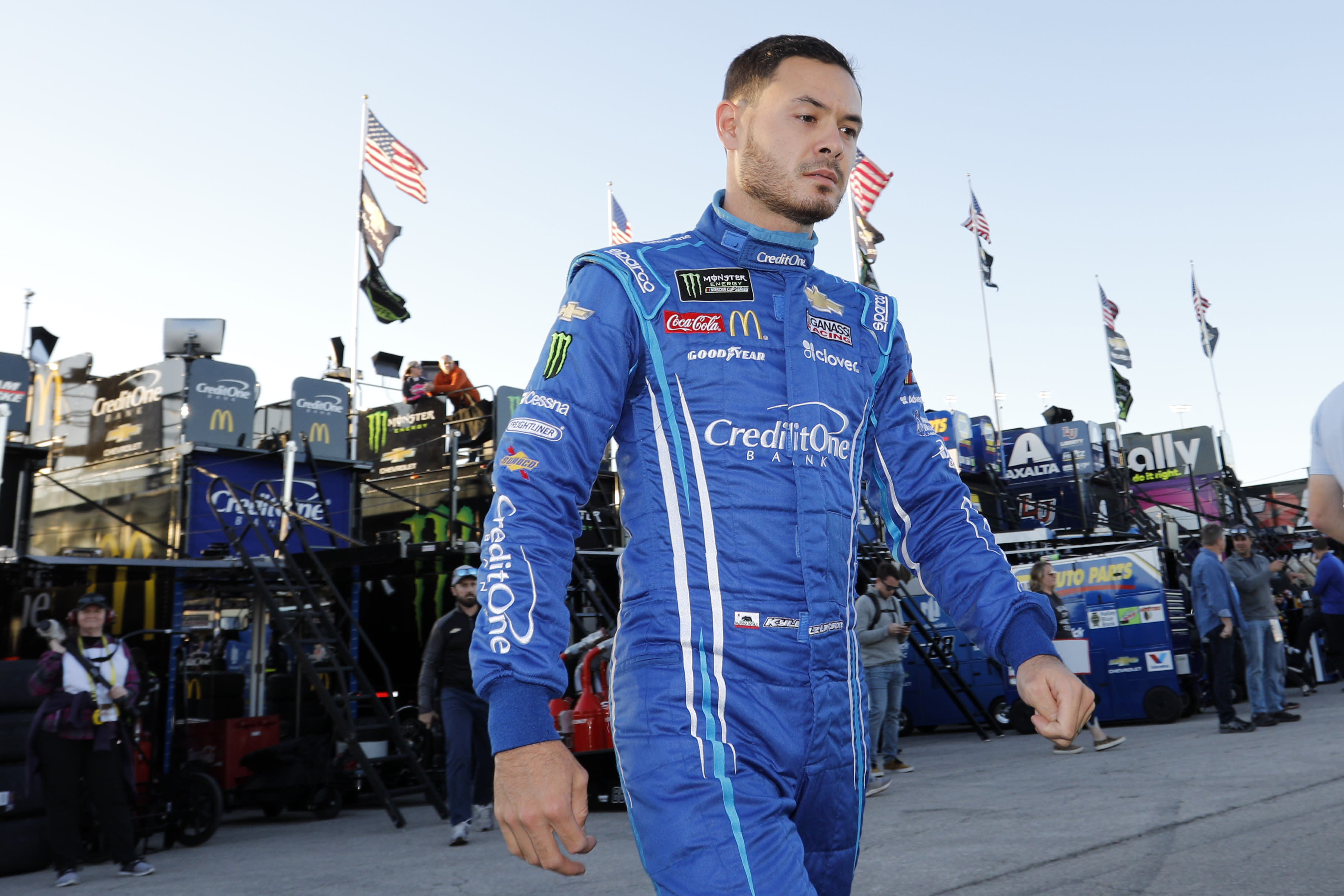 NASCAR driver Kyle Larson uses racial slur during iRacing live stream