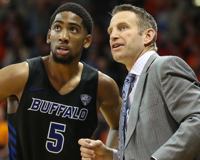 online store 6c08c 48832 Buffalo coach Nate Oats on Bulls' seeding, potentially facing former boss