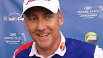 Ian Poulter interview after Round 3 of Crowne Plaza