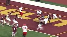 This Bonkers Kickoff Return Begins In The Worst Way Imaginable