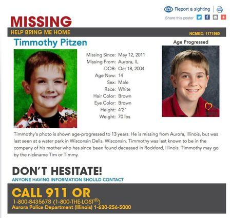 Person claiming to be missing child was Ohio ex-convict