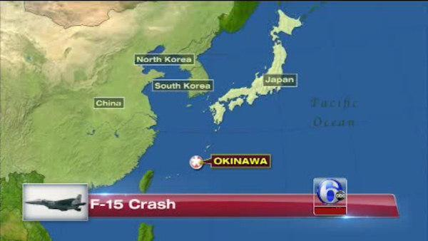 US F-15 fighter crashes in Pacific off Okinawa