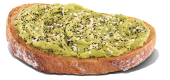 Avocado toast. (Dunkin Brands)