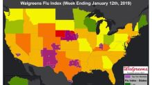 Nebraska, New Mexico and Kentucky Take Top Spots for State Flu Activity in this Week's Walgreens Flu Index™