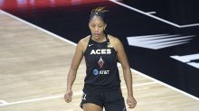 A'ja Wilson delivers heartfelt thank you to Aces teammates after winning MVP