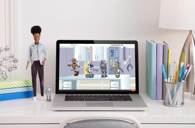 Barbie's latest career path is robotics engineering