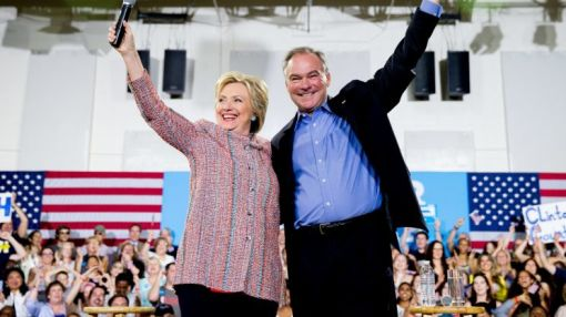 Hillary Clinton picks Tim Kaine for VP
