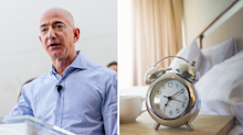 The surprising thing Jeff Bezos does first thing in the morning