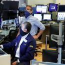 Futures fall as tech shares dip, Treasury yields jump