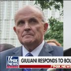 Bolton reportedly called Giuliani a 'hand grenade' in the Ukraine issue