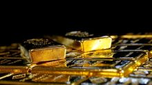 Gold ticks higher on softer dollar; China data in focus