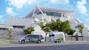 Mercedes-Benz V-Class「星動之旅 2.0」前進全台五大城市