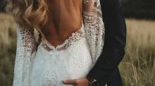 Raunchy detail in wedding photo sparks outrage