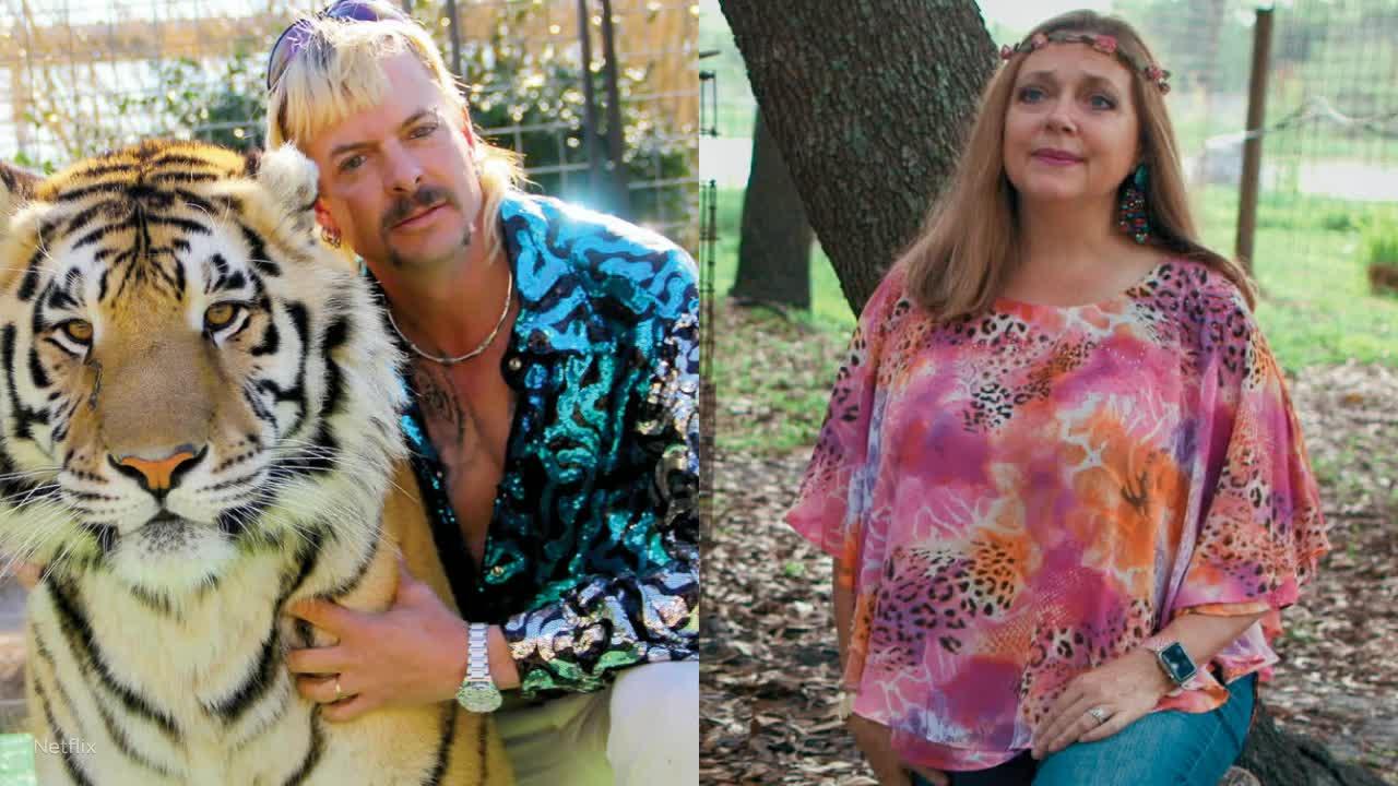 Minneapolis uses 'Tiger King' stars Joe Exotic and Carole