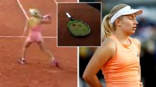 Dasha throws racquet-smashing tantrum in Sharapova loss