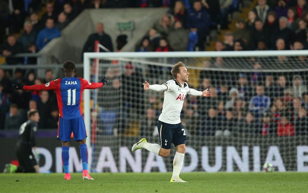 Christian Eriksen breaks the deadlock - Rex Features