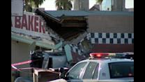 Arizona Crash Sends Car Into Building, 2 Hospitalized