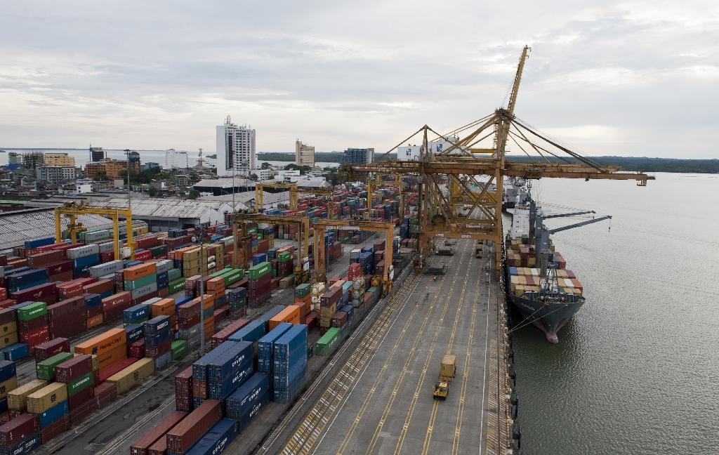 A view of the port in Buenaventura, Colombia, on March 25, 2014