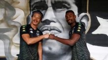Honda e Kalou se encontram pela primeira vez no Botafogo