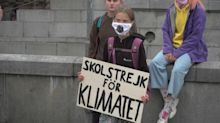Greta Thunberg holds school strike outside Sweden parliament