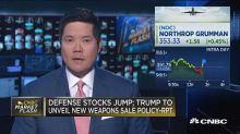 Defense stocks jump on reports of new US weapons sale pol...