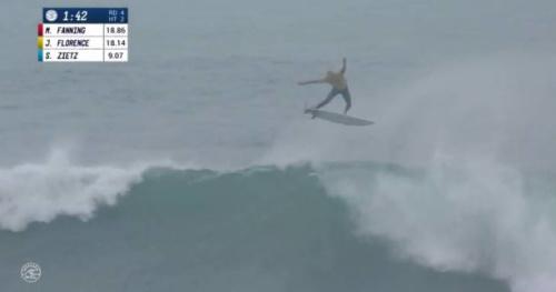 Surf - Bells Beach - Vidéo : l'alley-oop impressionant de John John Florence lors du round 4