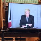 Out of COVID isolation, Johnson to give news conference