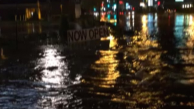 Flash Floods Hit Slidell, LA