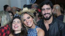 Beijos, xadrez e show de Lucy Alves animaram o Arraiá do Copa