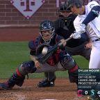 Dylan Moore's three-run homer