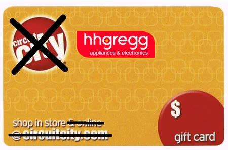 hhgregg extends Circuit City gift card deal through Super Bowl weekend