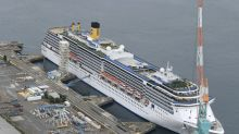 Virus-hit cruise liner leaves Japan after a month's quarantine