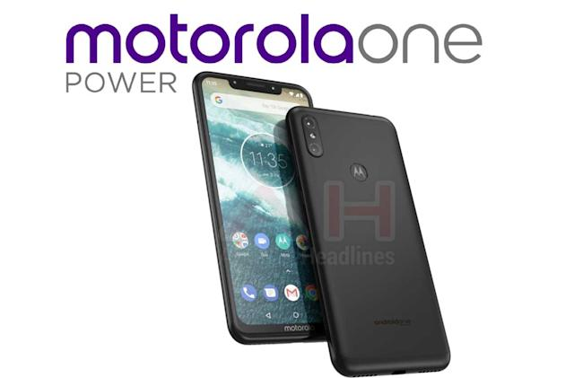 Leaked Motorola One Power may borrow heavily from the iPhone X
