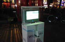 Outdoor Wii demo kiosks hit London
