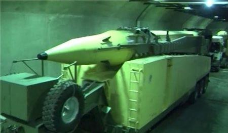 A new underground missile depot is seen in this undated handout photo released January 5, 2016 by Farsnews.com. REUTERS/farsnews.com/Handout via Reuters