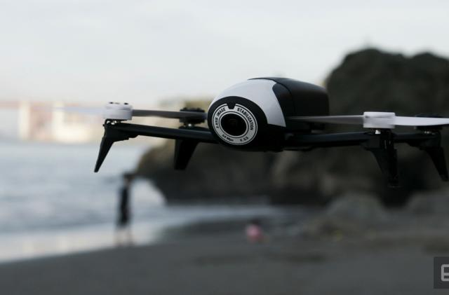 Parrot brings fancy follow-me features to its Bebop 2 drone