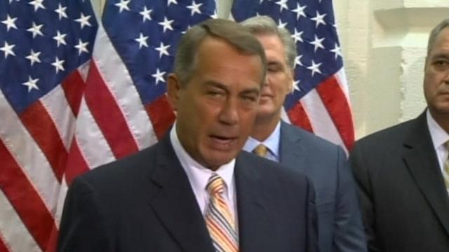 Boehner: 'We have no plans to impeach the President'