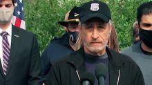 Jon Stewart goes back to Washington to fight for veterans