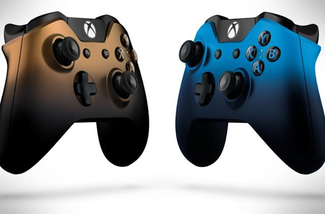 Microsoft reveals gradient-hued 'Shadow' Xbox controllers