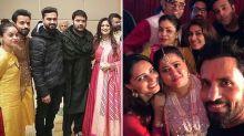 Pics: Bharti, Krushna, Sumona Join Kapil's Wedding Celebrations
