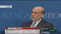 Bernanke: Pres. Bush gave leeway and support