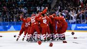 Russia wins hockey gold in OT thriller