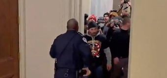 Congress moves to honor officer who confronted mob