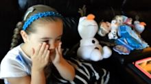 See Young 'Frozen' Fan Shed Tears of Joy Over Josh Gad's Olaf Love