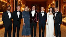 George and Amal Clooney joined by Benedict Cumberbatch at star-studded Buckingham Palace bash